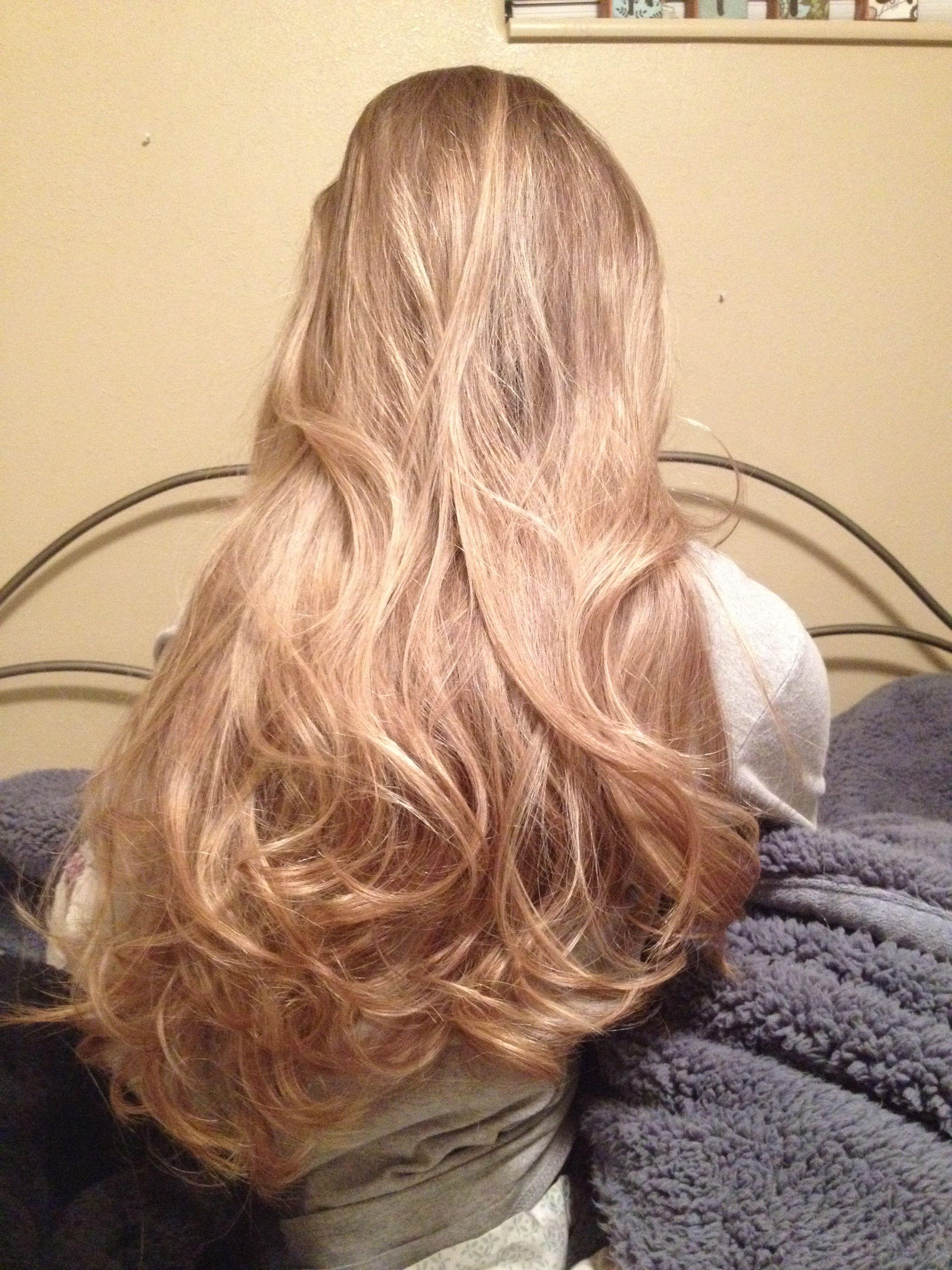 Relaxed curls hair ideas pinterest