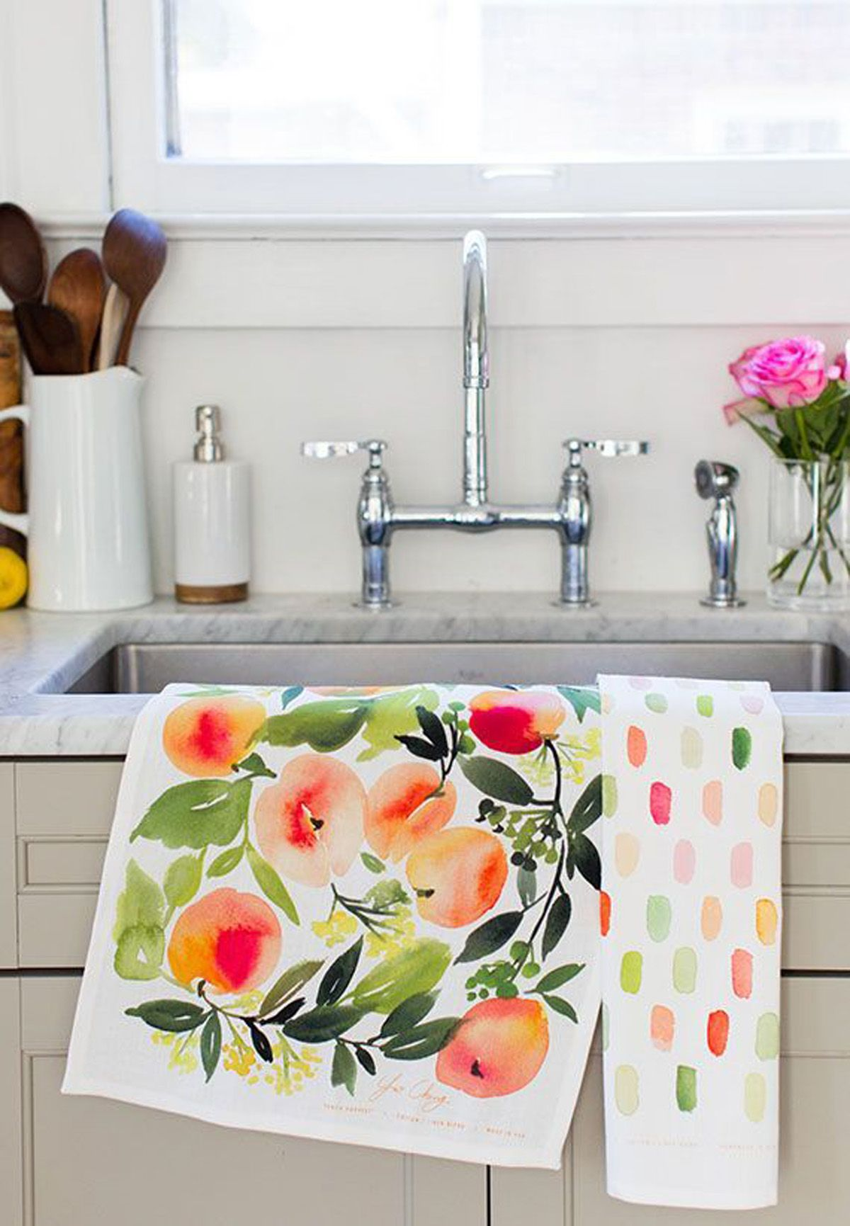 Relooker une cuisine en 10 idées de décoration in 2020 | Tea towels diy, Tea towels, Towels design