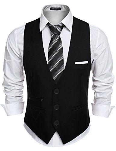 Hombre Chaleco De Traje Blazers Waistcoat Sin Manga Elegante Chaleco lxkFCmOr