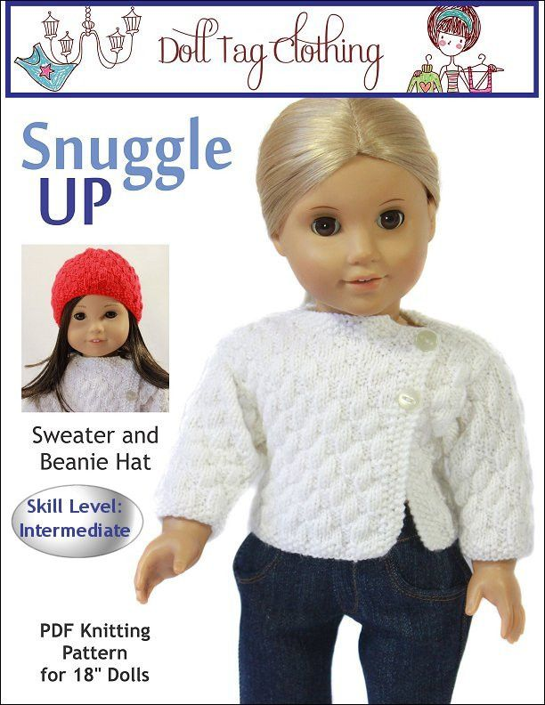 Snuggle Up Knitting Pattern | Doll Stuff | Pinterest