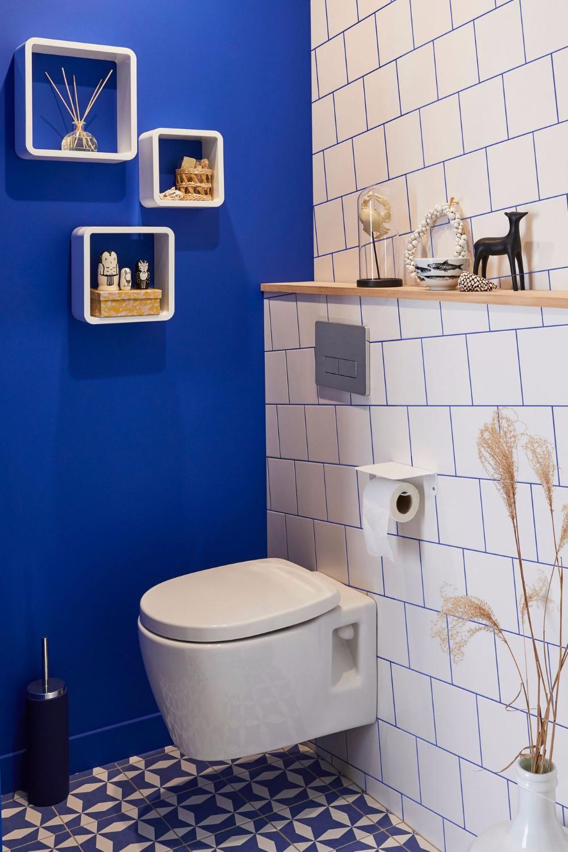 Peinture Pour Les Toilettes peinture wc : idées couleurs pour les toilettes | relooking