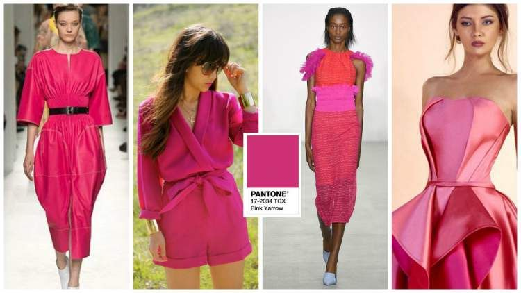 0275275b9bf Trata-se de um tom de rosa vibrante que tem como objetivo tornar os looks  mais alegres e cheios de atitude.
