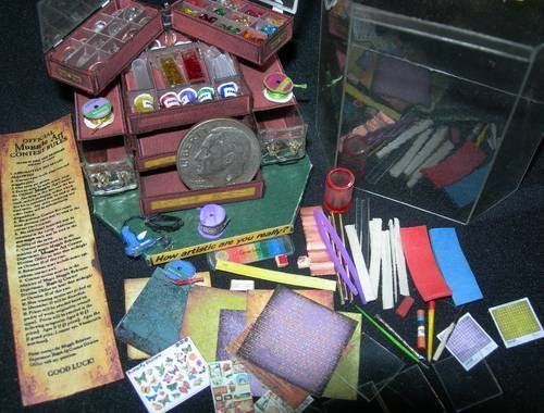 Harry Potter art supply store tutorial and printables so that you can make your own adorable Harry Potter world (in miniature).