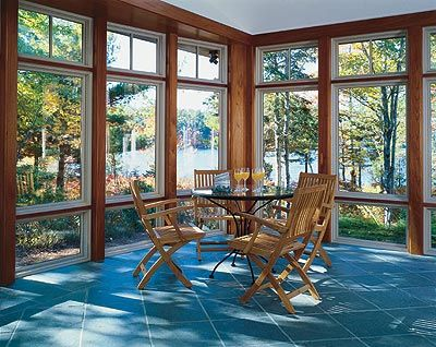 Floor To Ceiling Windows Frame Relaxing Views In This