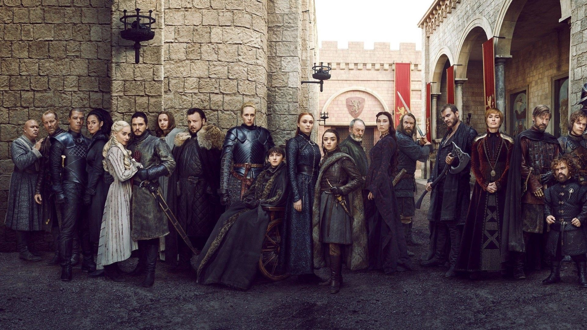 Game of Thrones Season 8 Full Cast Poster HD - Best Movie Poster Wallpaper HD | Game of thrones cast, It cast, Season 8