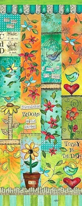 Blessed Nest Garden Art Poles Healing Garden Art Pole Love Garden ...