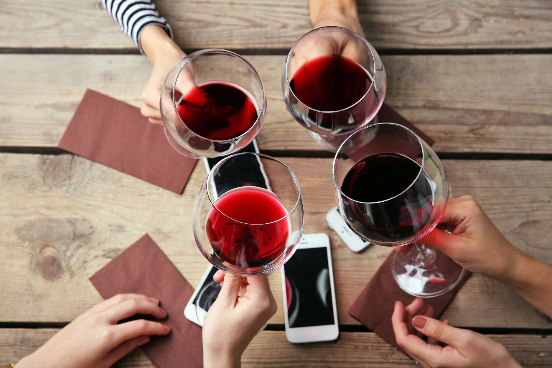 Every Major Type Of Red Wine Explained Types Of Red Wine Red Wine Non Alcoholic Wine