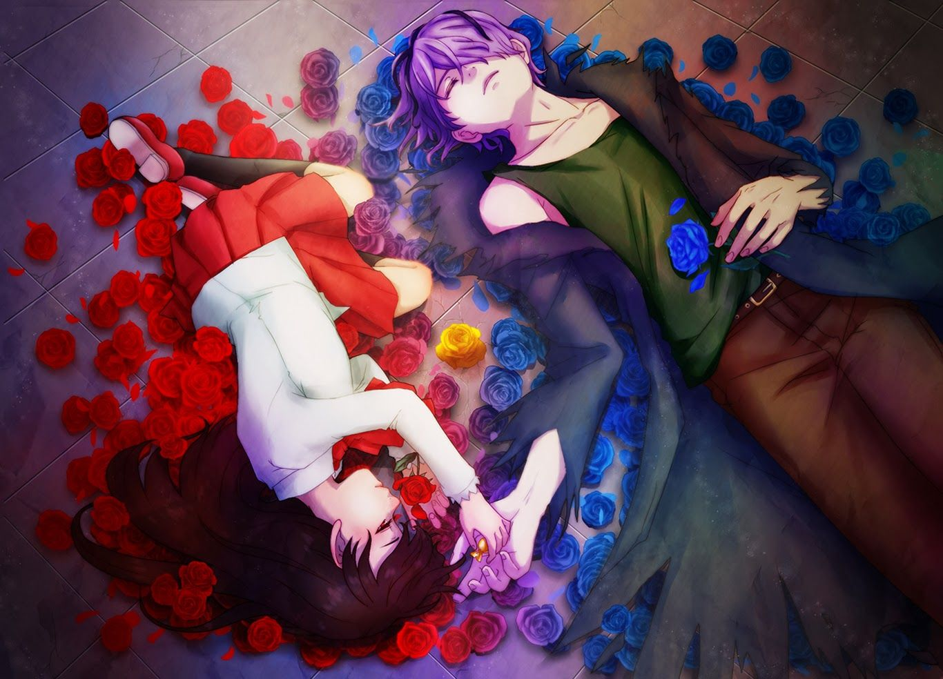 Hd wallpapers flowers hd wallpapers for pc anime ib game
