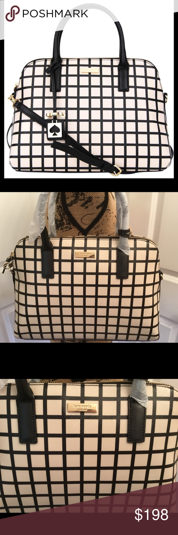 ad31bc3717104 Kate Spade Brightwater Dr Rachelle Bicolor Plaid This is a brand new with  tags Kate Spade