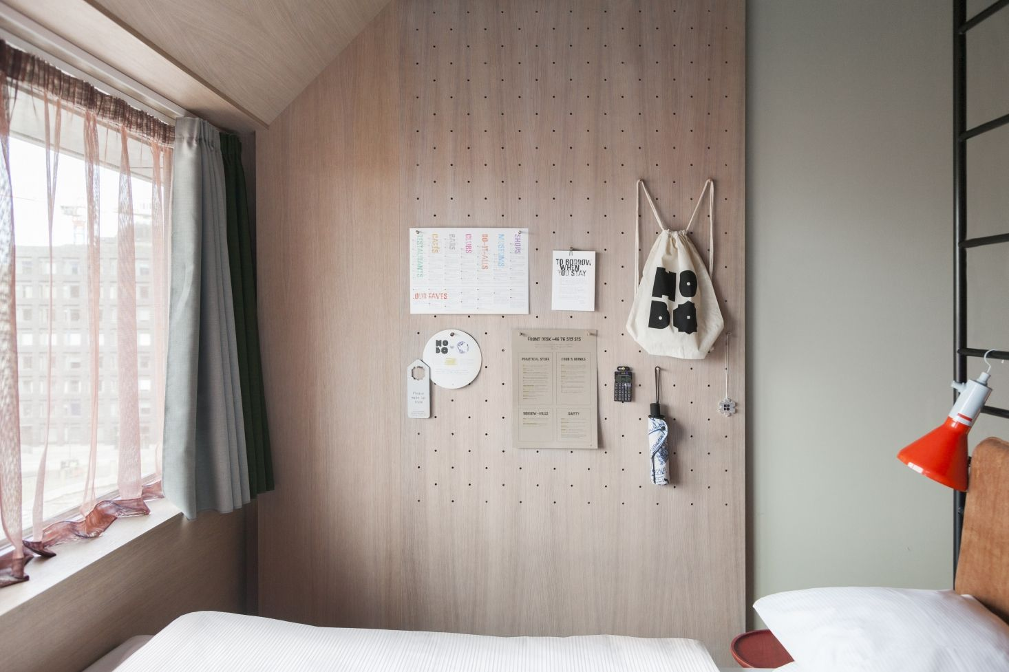 Small Space Solutions 5 Tiny Bedroom And Dorm Ideas To Steal From Stockholm S Hobo Hotel The Organized Home Small Bedroom Designs Small Bedroom Bedroom Design