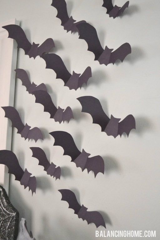 Halloween Mantle | Halloween Decorations & More | Pinterest | Paper ...