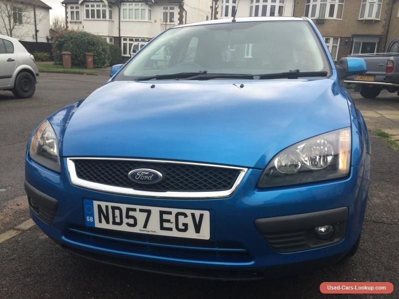 Car For Sale 2008 Ford Focus 1 6 Zetec Climate 5dr Hatchback Blue