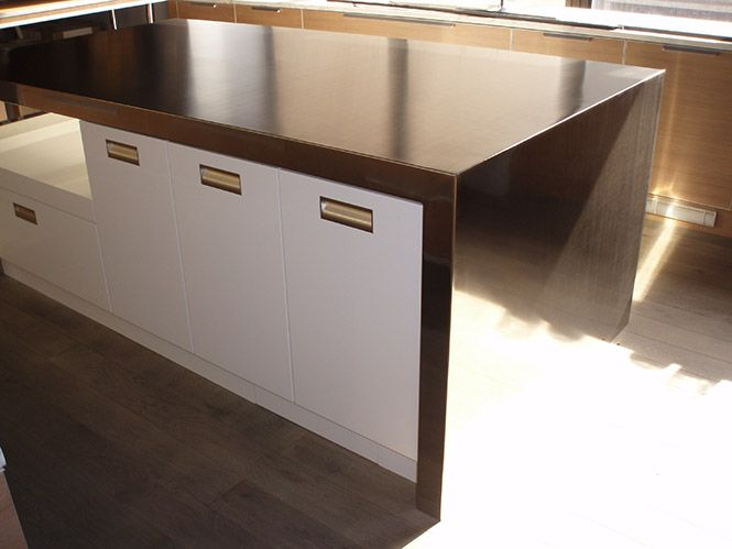 Stainless Steel Countertop Stainless Steel Countertops Island