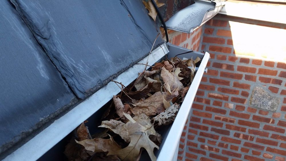 how to clean copper gutters