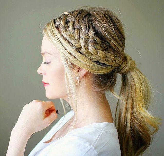 20 hermosos peinados recogidos para cabello largo que te - Peinados recogidos con trenzas ...