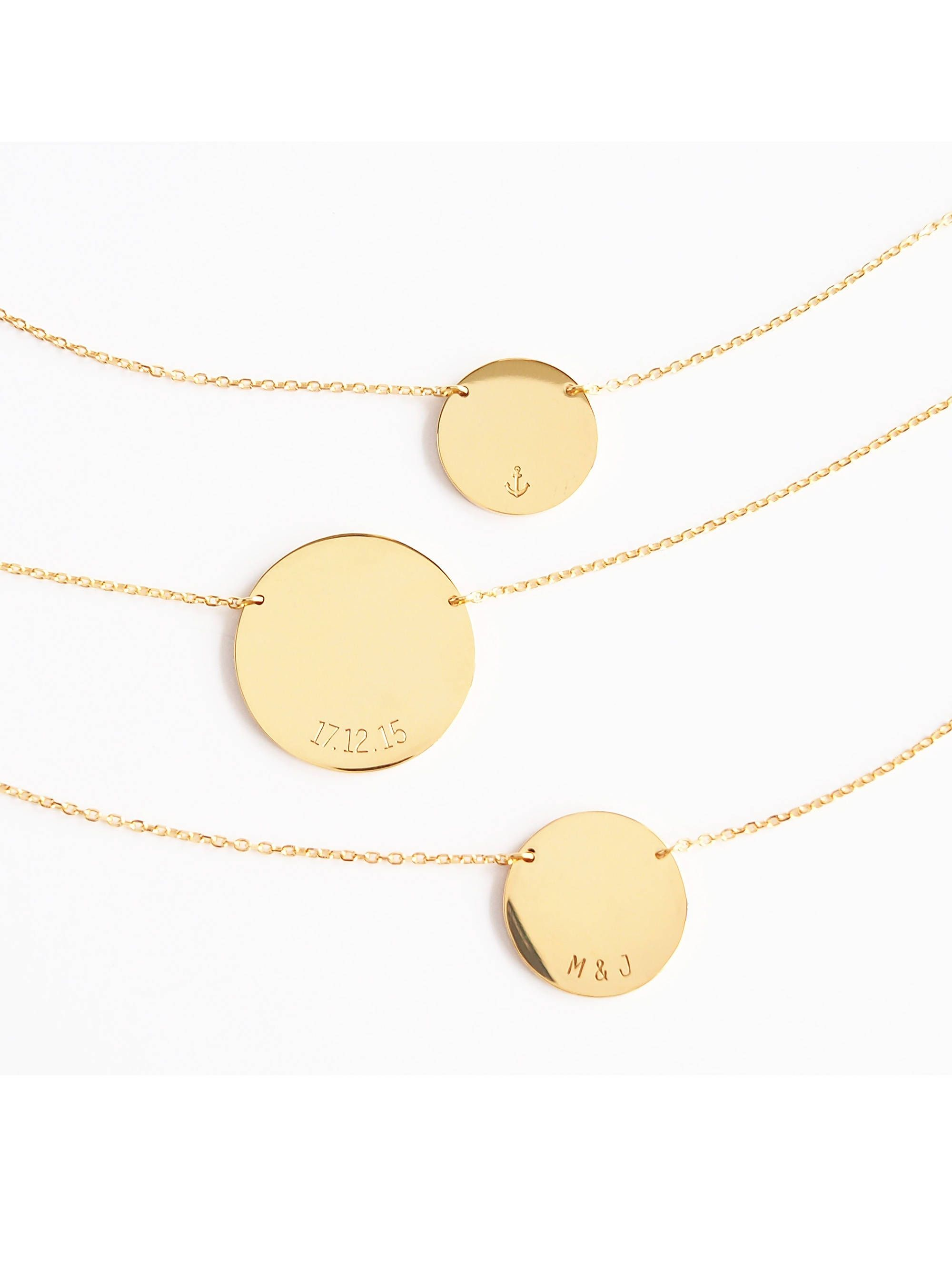 ephemera disk img circle necklace products