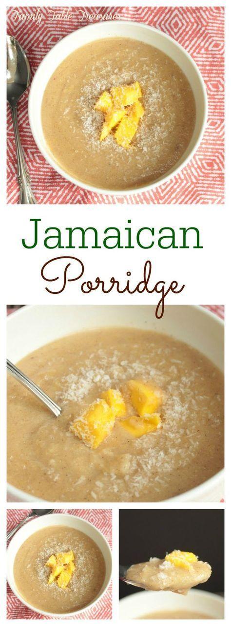 Jamaican Porridge | Recipe | Caribbean recipes, Jamacian ...