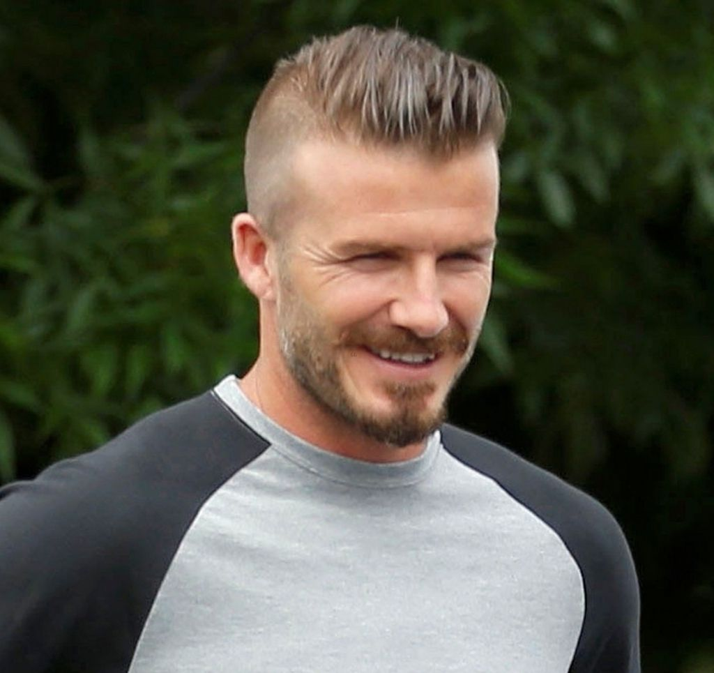 Beckham Mohawk Hairstyle David Beckham Hairstylesdavid Beckham Hairstyle Casual Short Photo Beckham Mohaw David Beckham Hairstyle Beckham Haircut Beckham Hair