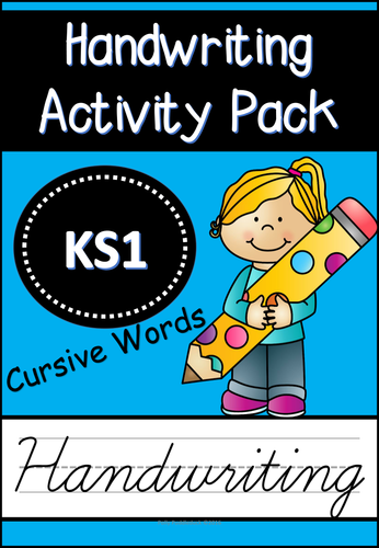 handwriting activity pack cursive words for eyfs ks1 handwriting practice handwriting. Black Bedroom Furniture Sets. Home Design Ideas