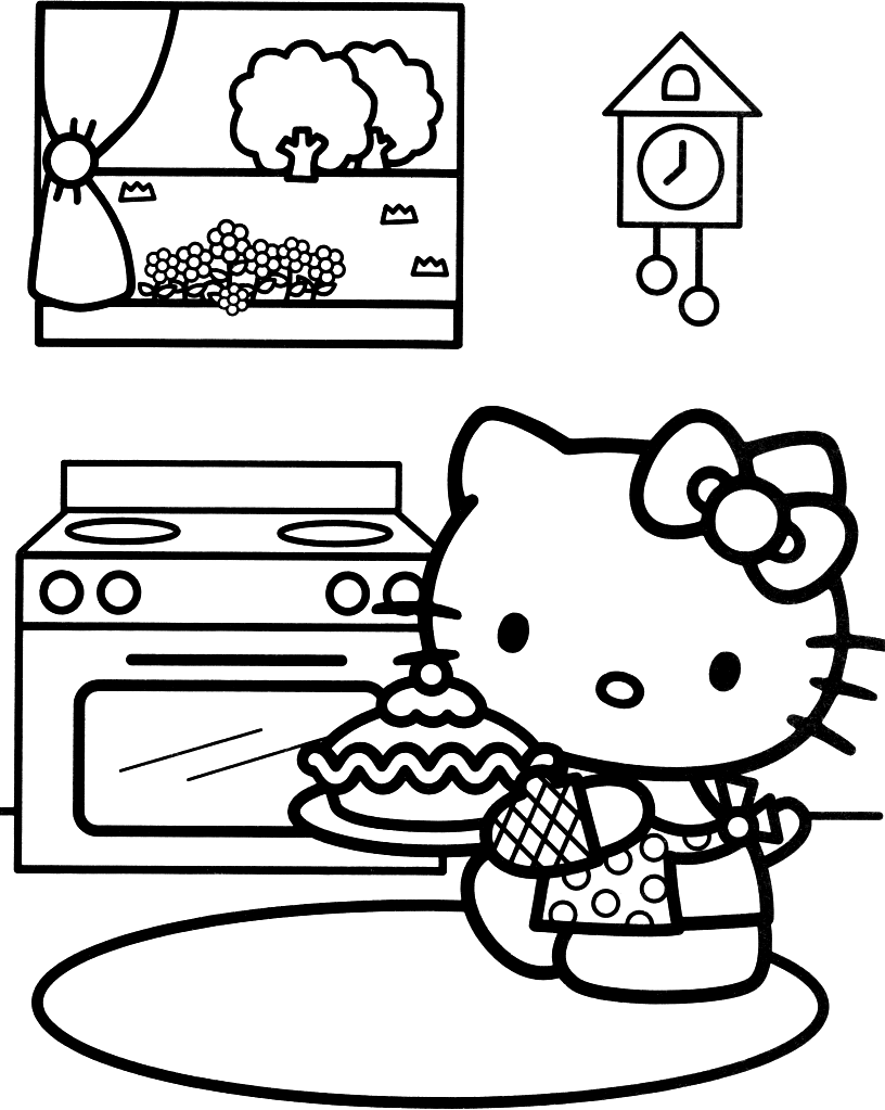 Find This Pin And More On Baking By Susandonfran Free Printable Kitty