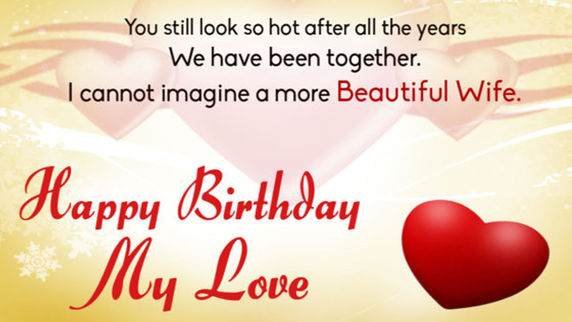 Happy Birthday Wife  Birthday Wishes For Wife Images Free