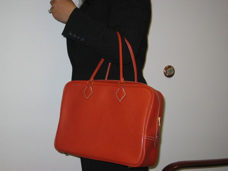 1770b4747c9c My first Hermes bag....is a Plume in Potiron!!! - PurseForum