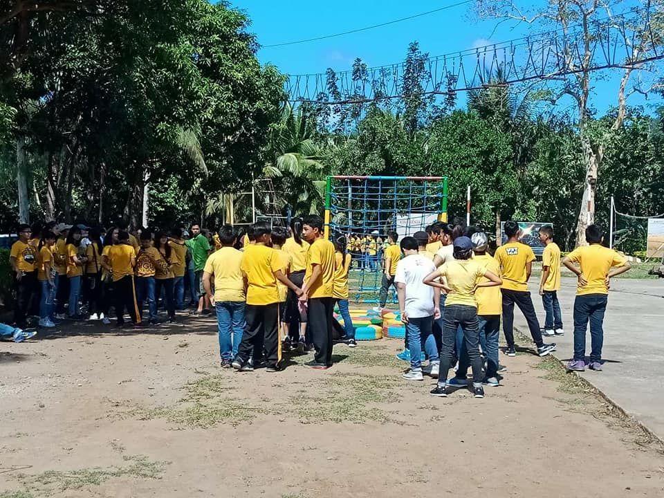 UST JUNIOR TEAMBUILDING !!! #bakasyunanTanay #itsmorefuninbakasyunan #tanayHabe #400students
