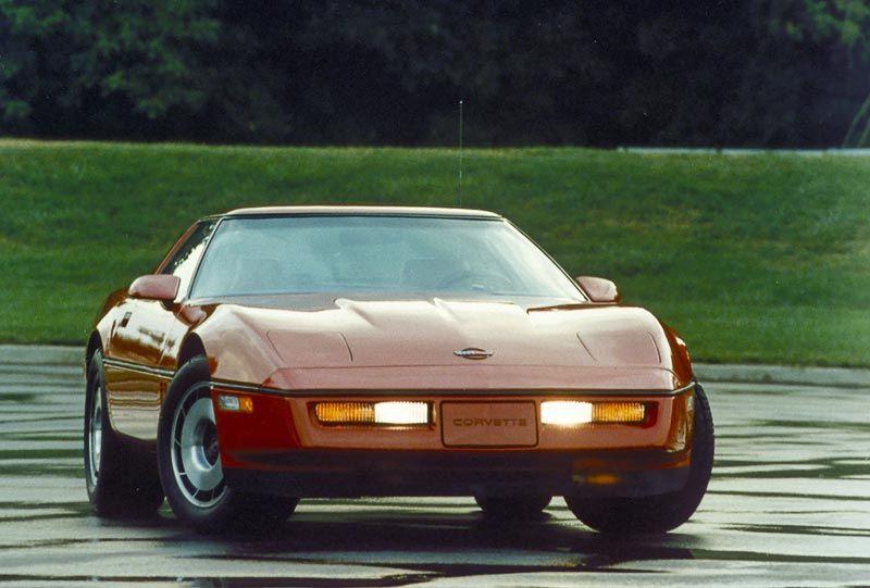 The Rebirth Of The Corvette 1984 Nonstop 80s Corvette C4 Corvette Chevrolet Corvette C4