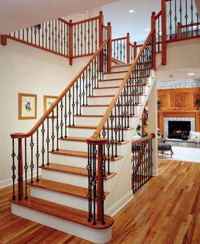 Wrought Iron Interior Stair Railings I Like It!