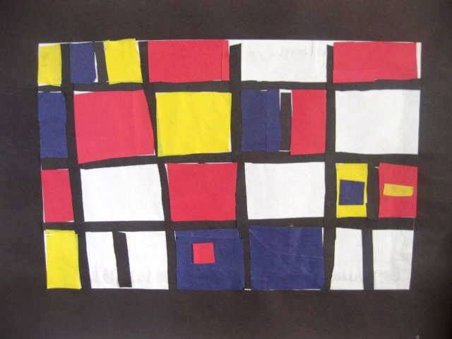 Lines Geometry And Primary Colors Color Art LessonsArt