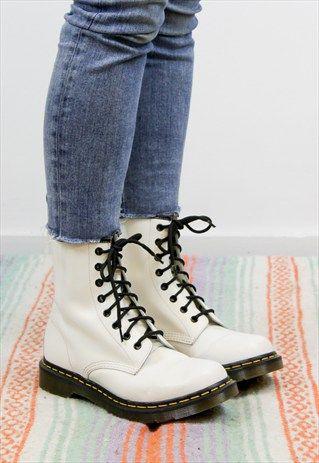 doc martin white boots