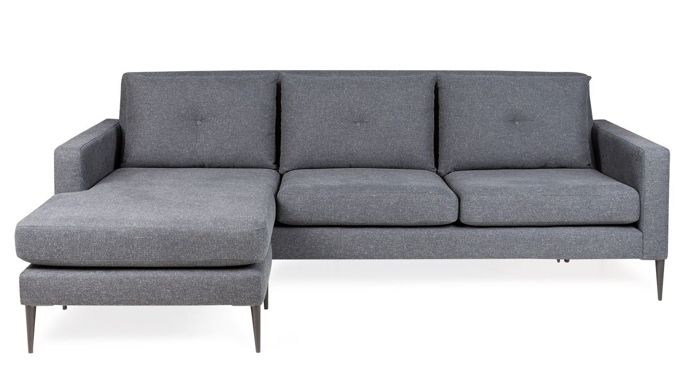 Brunel Corner Chaise Murcia Grey Sofa