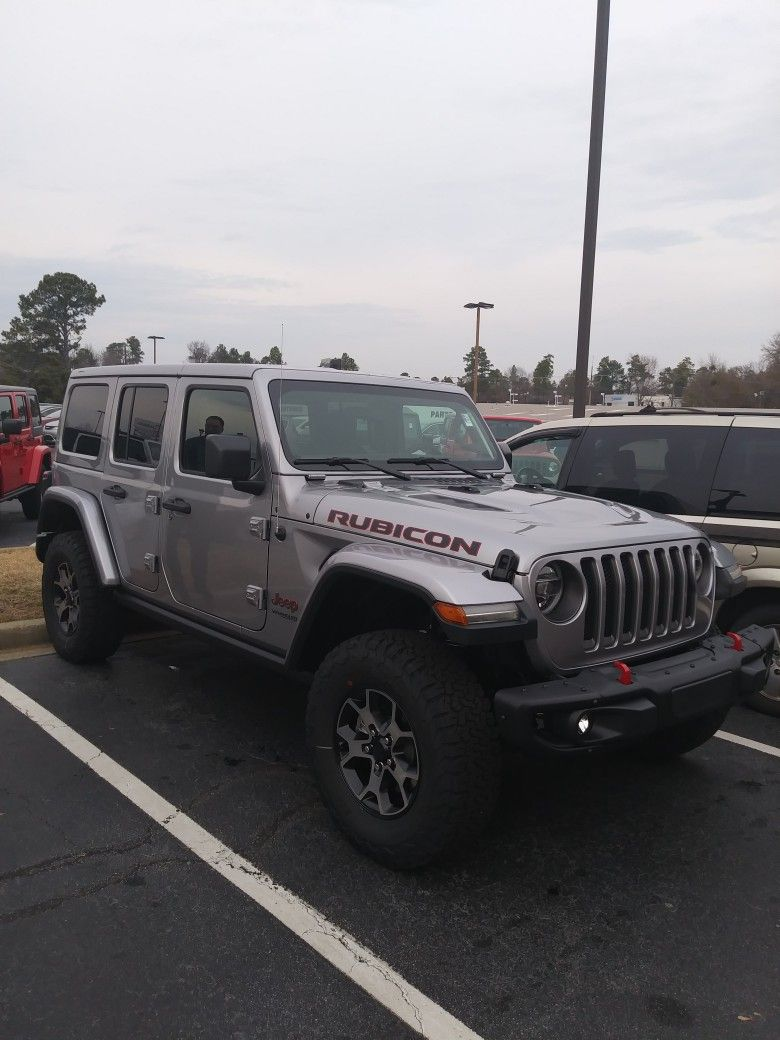 2018 Jeep Wrangler Jl Rubicon Jeep Wrangler Rubicon Jeep