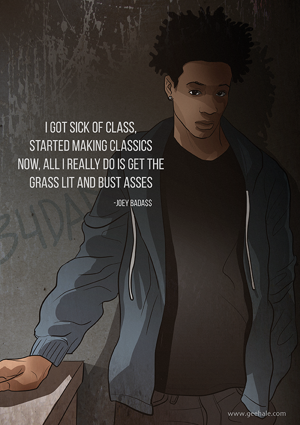 JOEY BADA$$ | Rap quotes, Hip hop, Song quotes