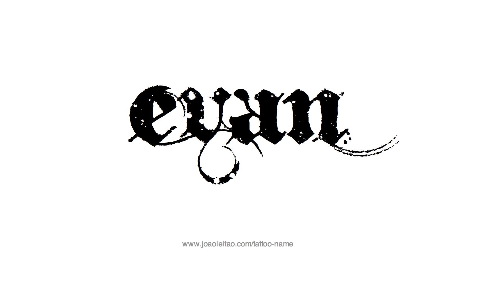 Evan Name Tattoo Designs Name Tattoos Name Tattoo Tattoo Designs