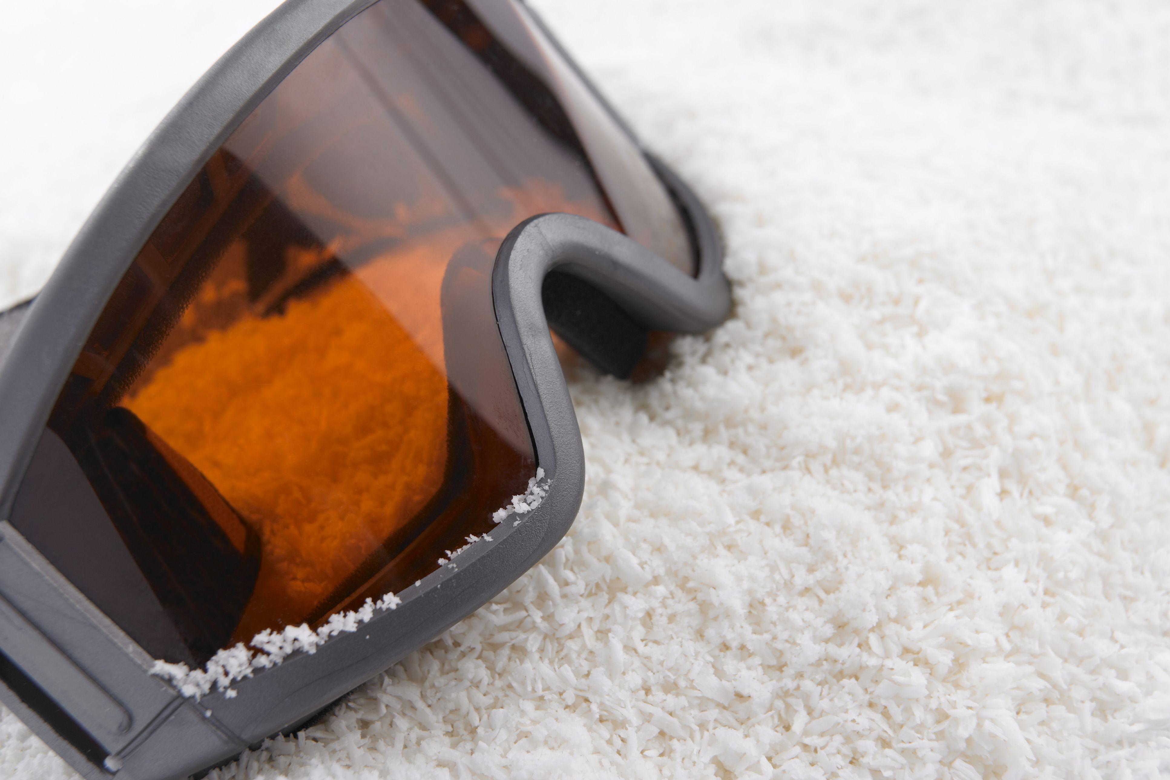 Met een goed werkende skibril heb je altijd goed zicht op de piste.