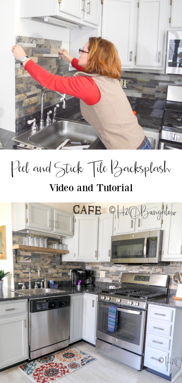 How To Install Peel And Stick Tile Backsplash With Images