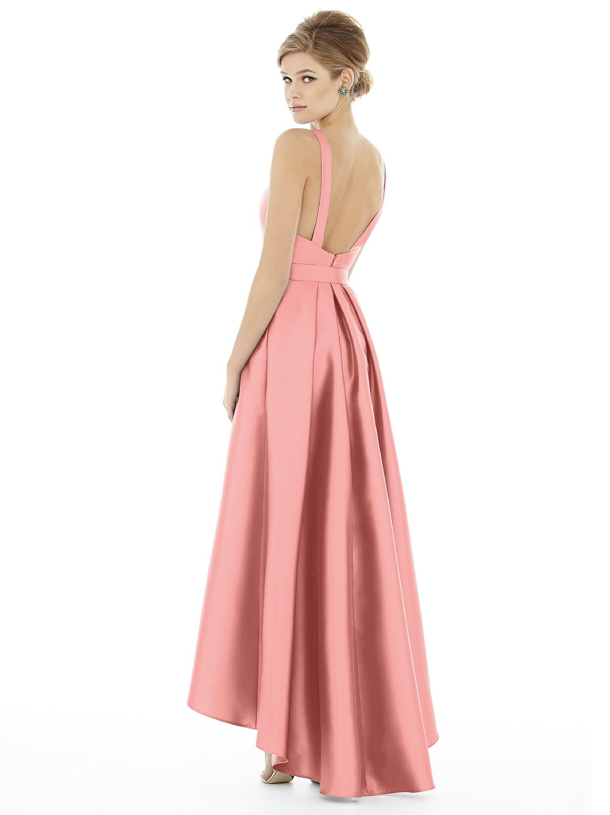 Alfred Sung Style D706 | Alfred sung, Bateau neckline and Neckline