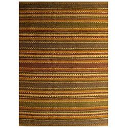 @Overstock.com - Hand-woven Jute Rug (4' x 6') - Add a touch of style to your home decor with a hand-woven jute rug Contemporary rug is crafted from 100-percent jute Elegant rug features shades of brown, green, gold, rust and beige  http://www.overstock.com/Home-Garden/Hand-woven-Jute-Rug-4-x-6/3679672/product.html?CID=214117 $57.61