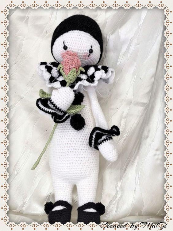 Pierrot the Fantastic Clown Lalylala by CreatedbyMaGi on Etsy ...