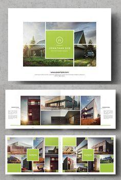 multipurpose landscape brochure template flyers namecard