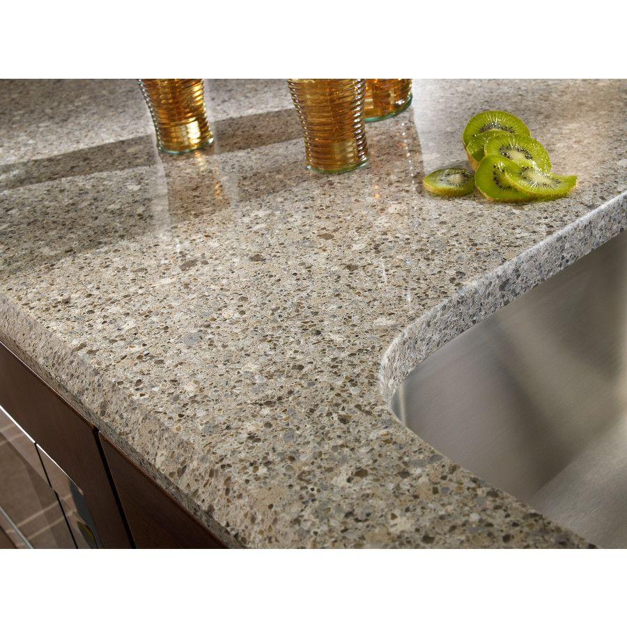 Shop Silestone Alpina White Quartz Kitchen Countertop