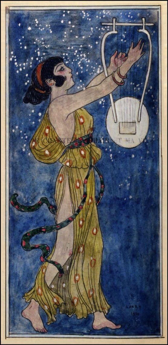 From Les Chansons De Bilitis Illustrated By George Barbier With 42 Colour Designs Paris 1922 Collection Pierre Corrard Illustration Art Artist