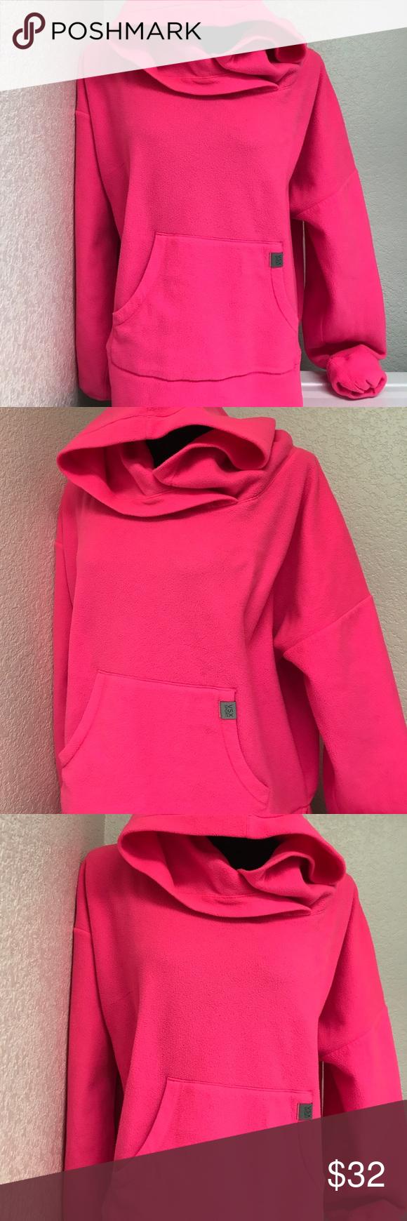VSX hoodie fleece sweater Large neon pink | Fleece sweater, Neon ...