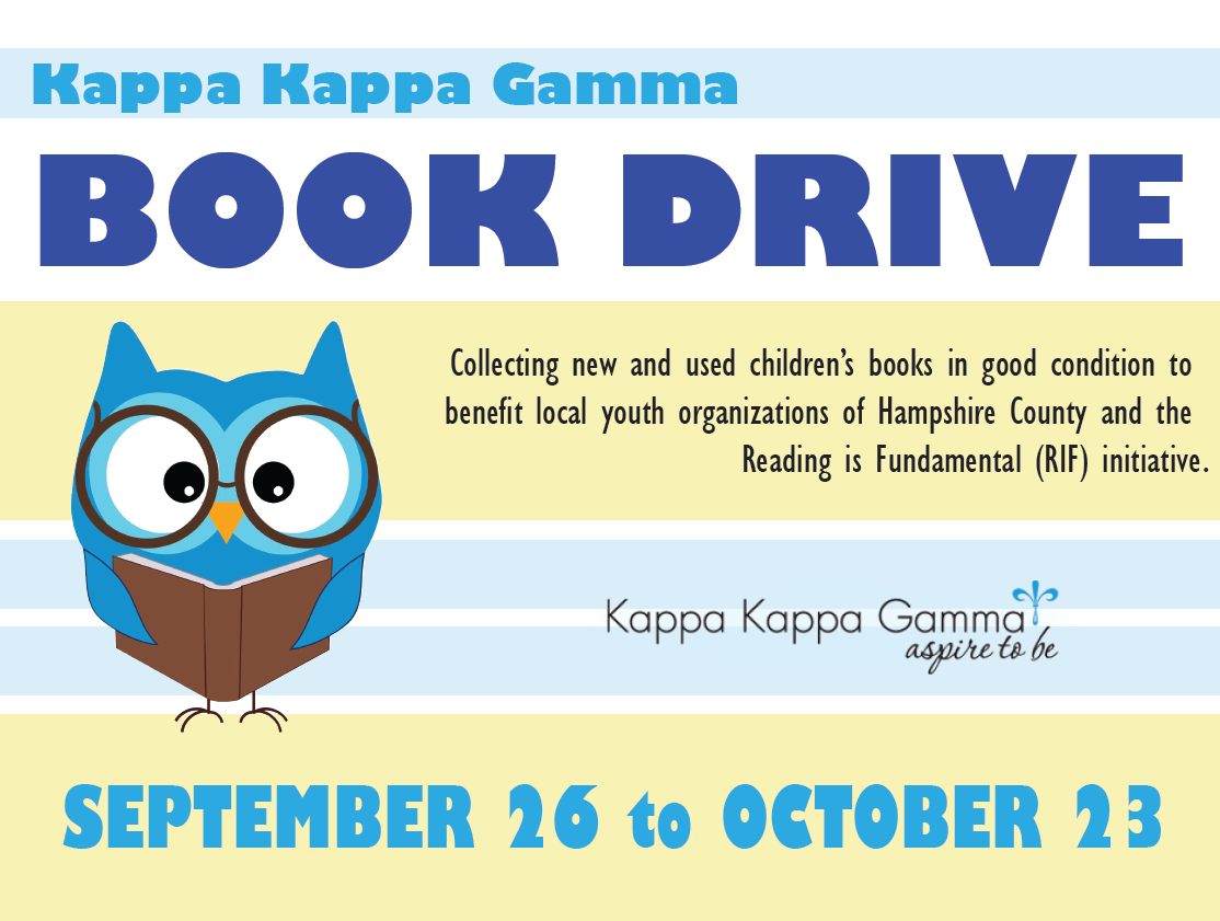 this was a flyer i created for a book drive to benefit our national