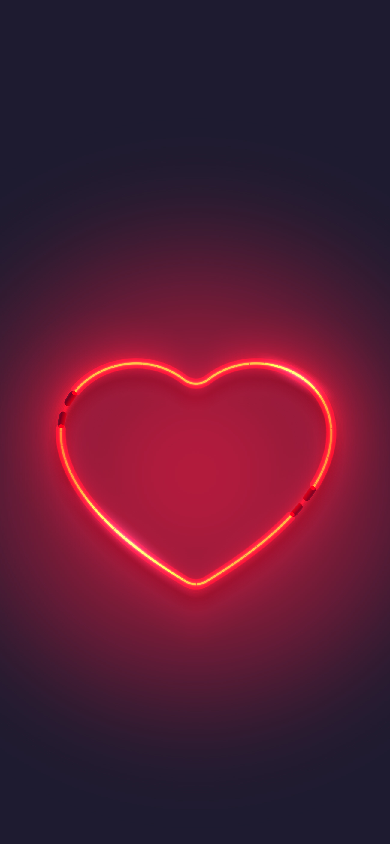 Iphone Background Neon Red Aesthetic Wallpaper