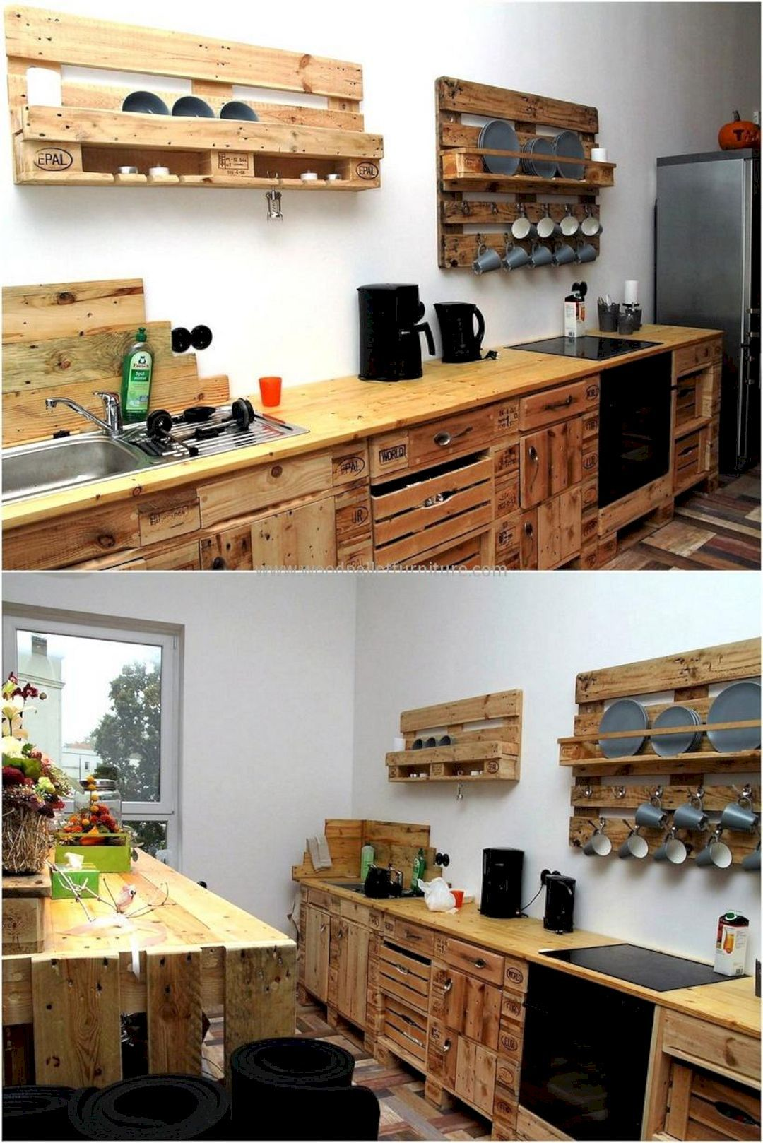 16 Stunning Diy Pallet Projects For Your Kitchen Pallet Kitchen