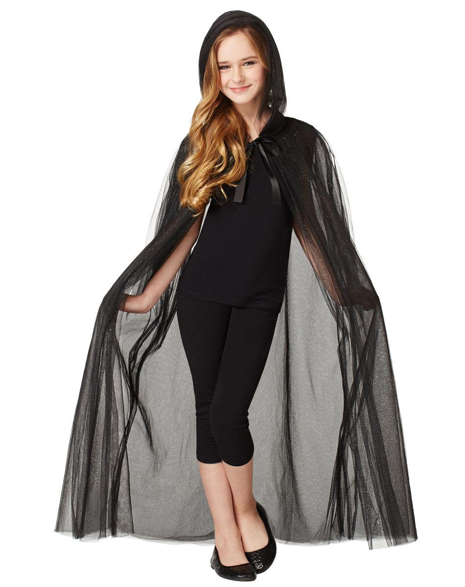 Black Glitter Cape Child Costume  sc 1 st  Pinterest & Black Glitter Cape Child Costume | Halloween | Pinterest | Black ...