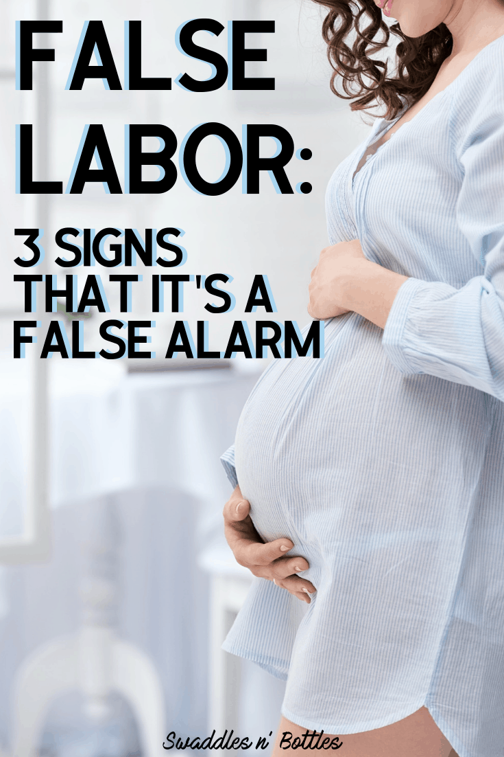 False Labor? Three Signs that It's Not Actually Baby Time ...