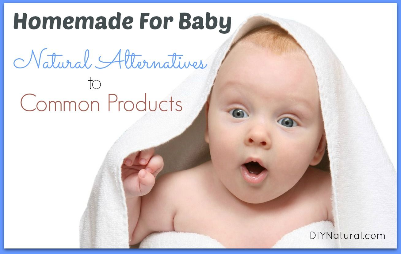 Homemade for baby from diapers to shampoo and everything in